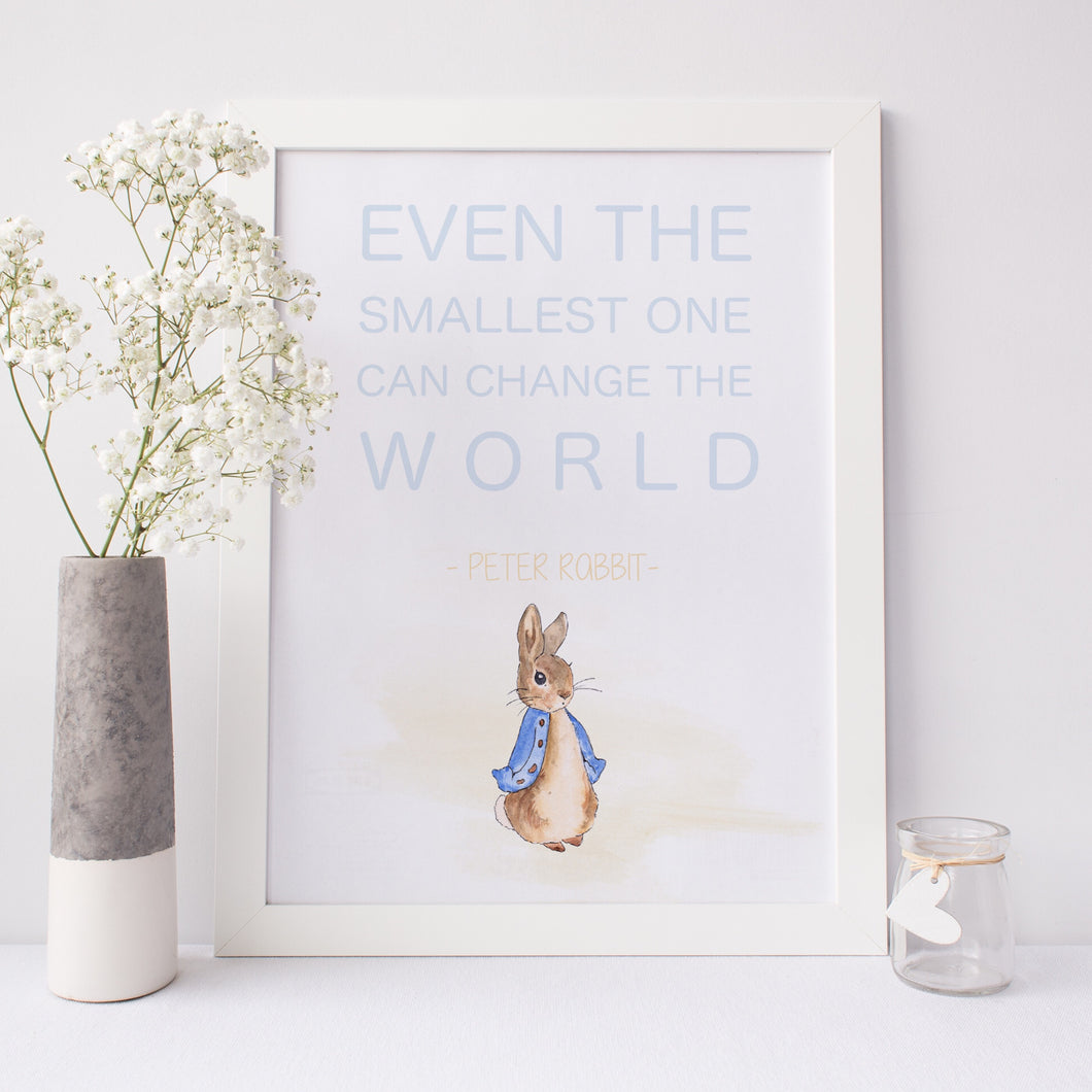 Peter Rabbit - Even the smallest one can change the world