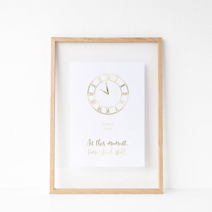 Date & time of Birth print