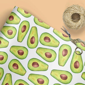 Avocado gift wrap