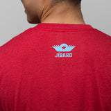 jibaro t-shirt pr male ox red back logo