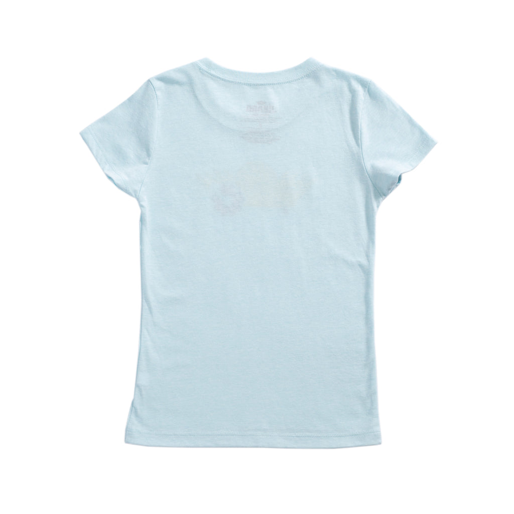 Jíbaro Heritage Youth Shirt - Girl (Ice Blue)