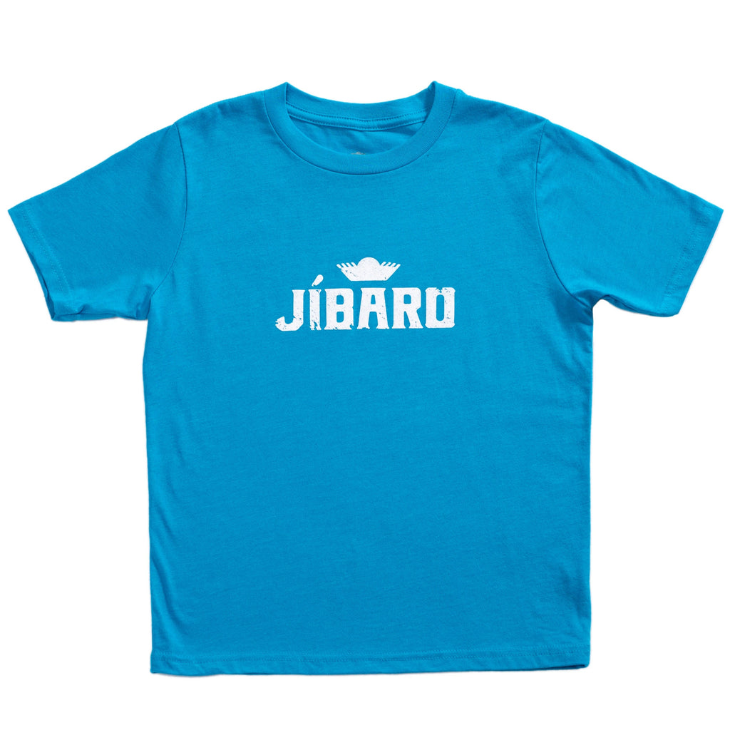 Jíbaro Heritage Youth Shirt - Boys (Bright Blue)