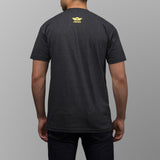 jibaro tee pr male charcoal machete back