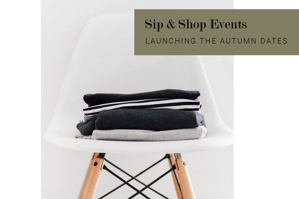 { Autumn Sip & Shop Events }