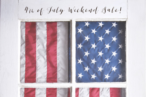{ 4th Of July Sale + Cocktails }