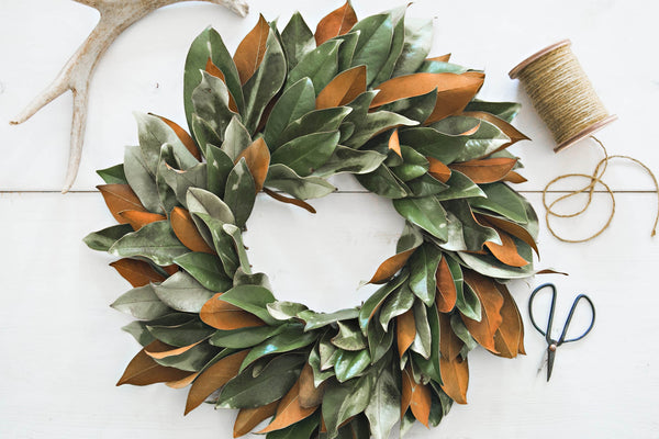 { Workshop | Magnolia Wreath }
