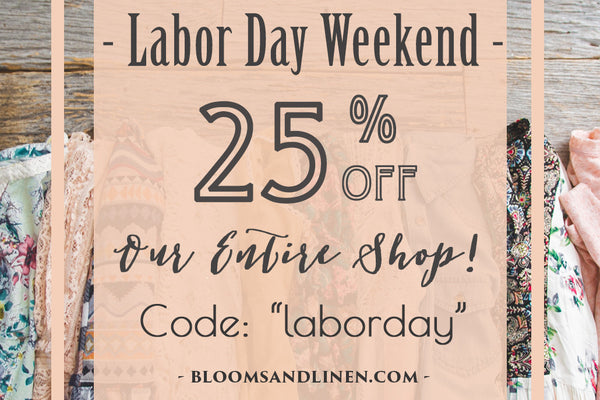 { Labor Day Weekend SALE }