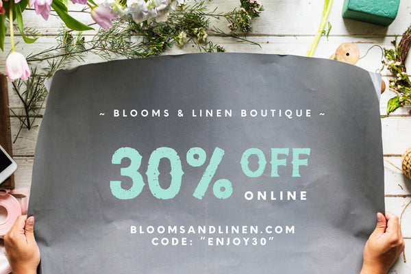 { Enjoy 30% off Sitewide }