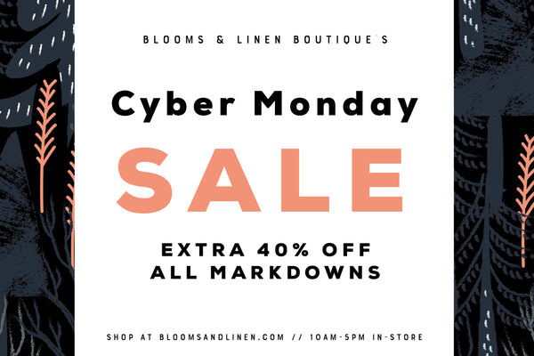{ Cyber Monday // Extra 40% Off }