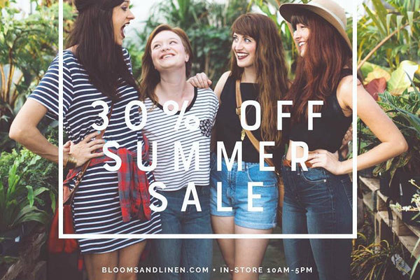 { 30% Off // Summer Sale }