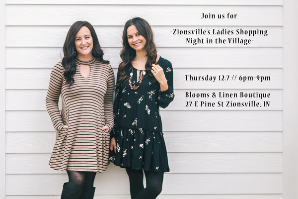 { Zionsville's Ladies Night In The Village }