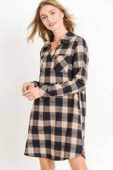 Annabelle Flannel Tunic