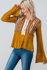 Bohemian Hippie Sweater