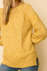 Goldenrod Sweater