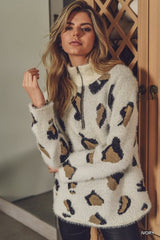 Leopard Pullover Sweater