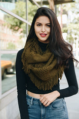 Hunter Knit Infinity Scarf