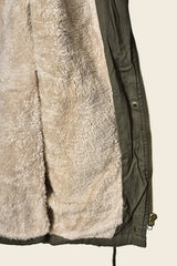 Army Utility + Fur Lined Vest