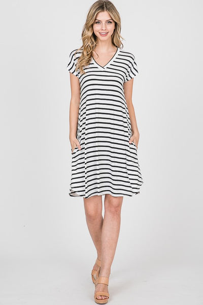 Alex Striped Dress