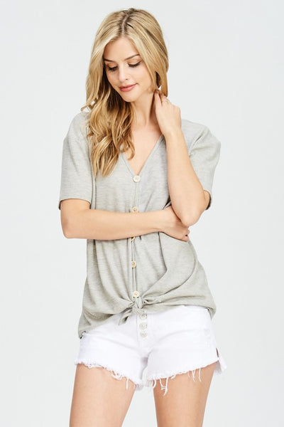 Melody Knotted Tee