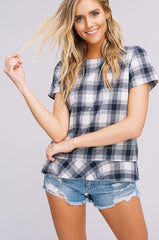 Jessie Gingham Top
