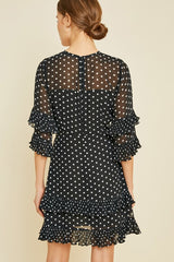Dotty Cocktail Dress