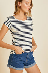 Scallop Tee