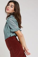 Minted Blouse