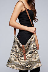 Aztec Tapestry Saddle Bag