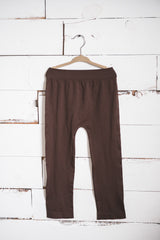 Chocolate Capri Leggings