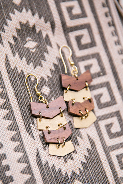Tumbling Arrow Earrings