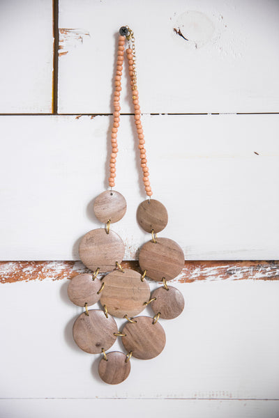 Stones Throw Natural Necklace