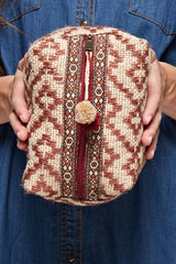 Aztec Tassel Cosmetic Bag