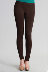 Brown Ankle Leggings
