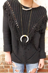 Horn + Brass Beljoy Necklace