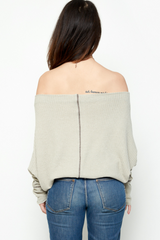 Thyme Relaxed Shoulder Sweater