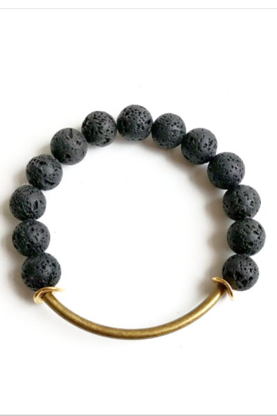 Lava Essential Oil Bracelet