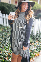 Layering BW Tee Dress