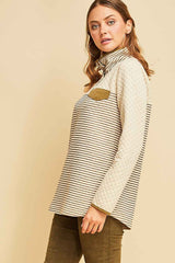 Katrina Quilted Sweater