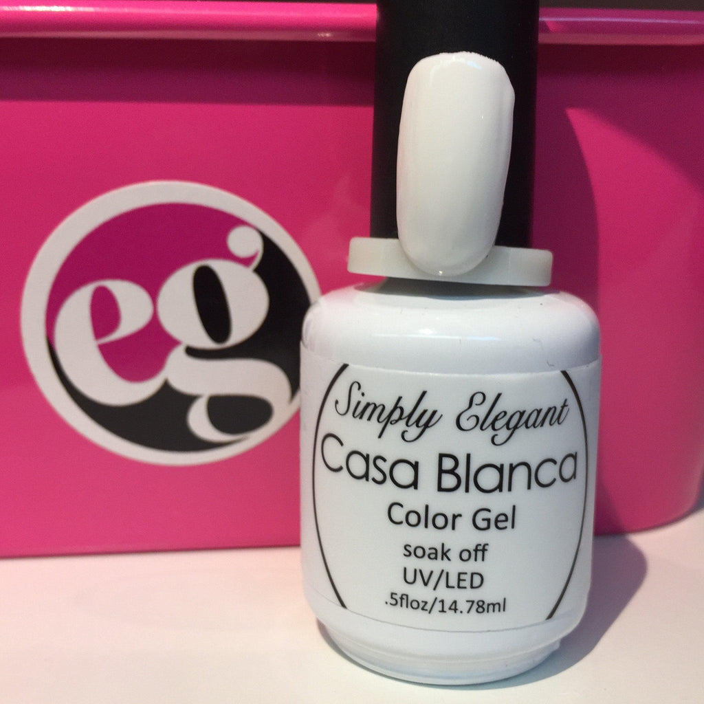Casa Blanca Gel Polish - Cordoza Nail Supply