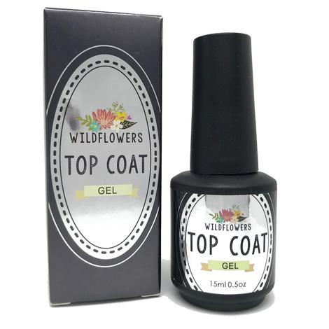 WF Top Coat Gel - Cordoza Nail Supply