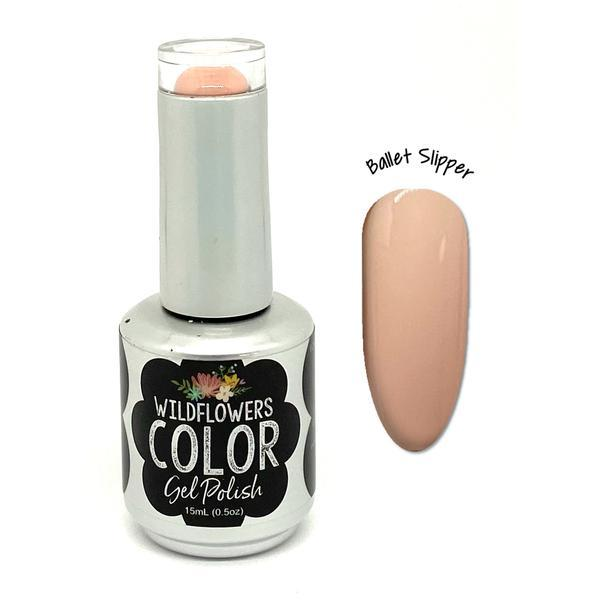 Wildflowers Color Gel Ballet Slipper - Cordoza Nail Supply