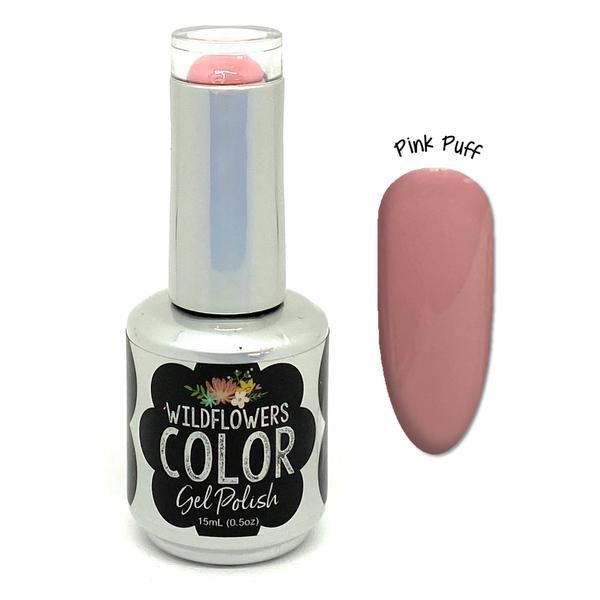 Wildflowers Color Gel Pink Puff - Cordoza Nail Supply