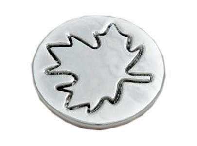 Recycled Aluminum Moose or Set of Maple Leaf Coasters