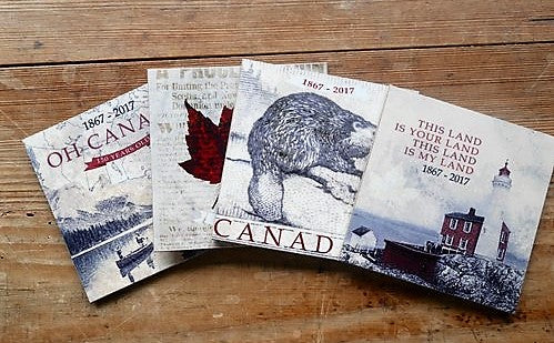 Canada Series Wooden Coasters