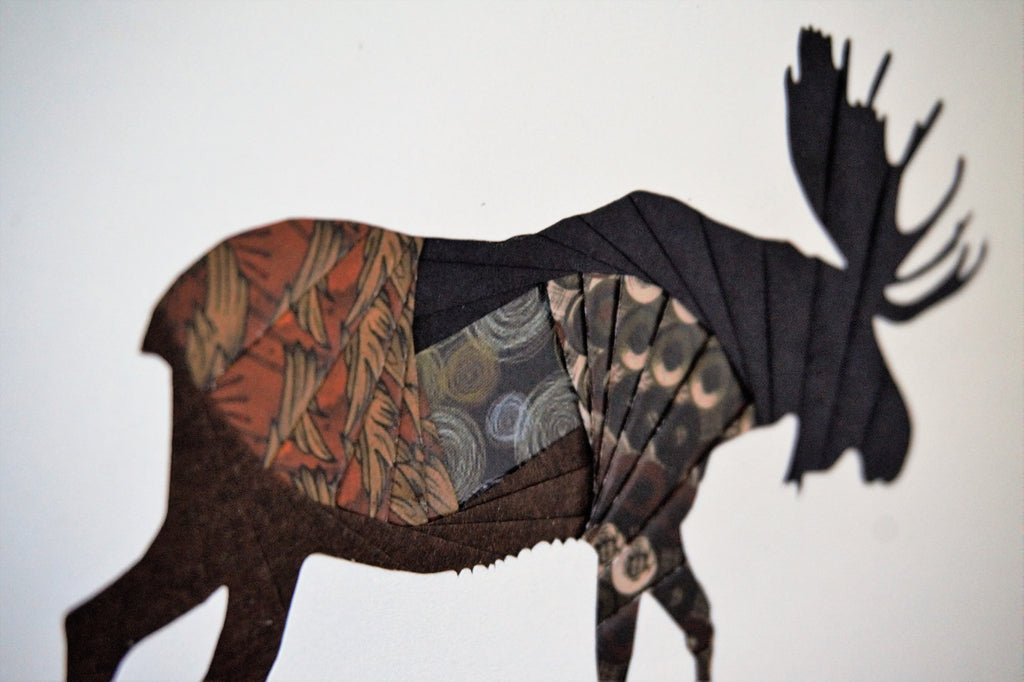 Karen Bernard - Paper Folding Artwork (8 designs)