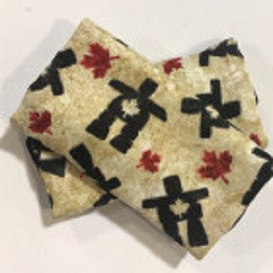 Inukshuk & Maple Leaf Luggage Identifiers