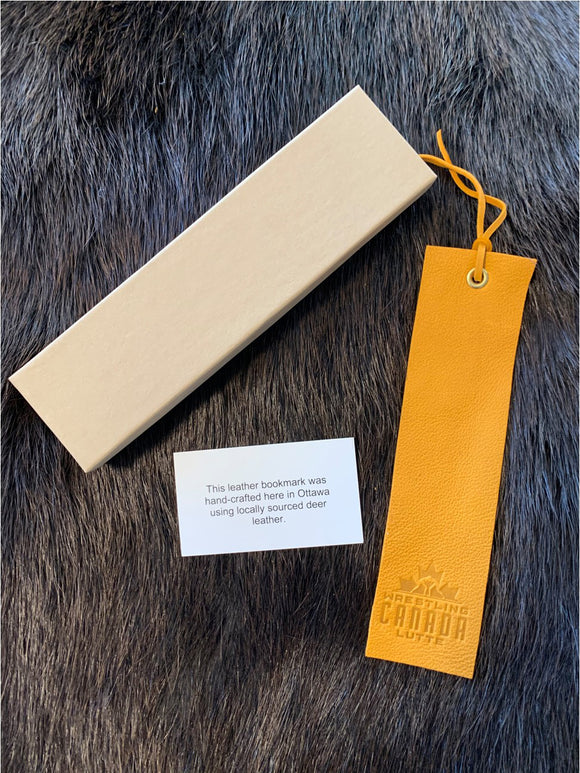 Deer Leather Bookmarks