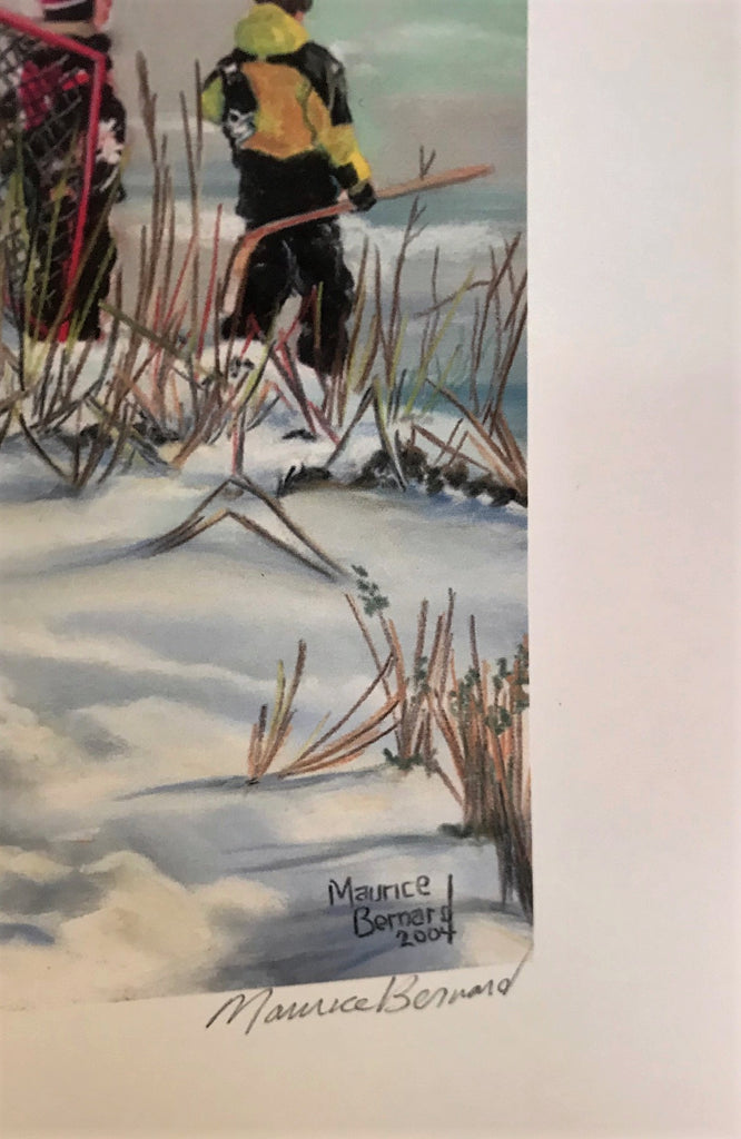 Morning on the Pond - Maurice Bernard signed print