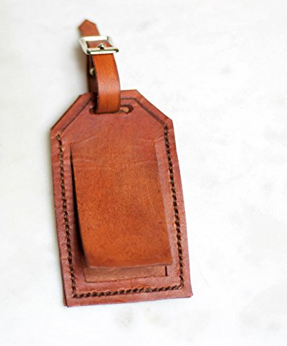 Not Your Bag Leather Luggage Tag