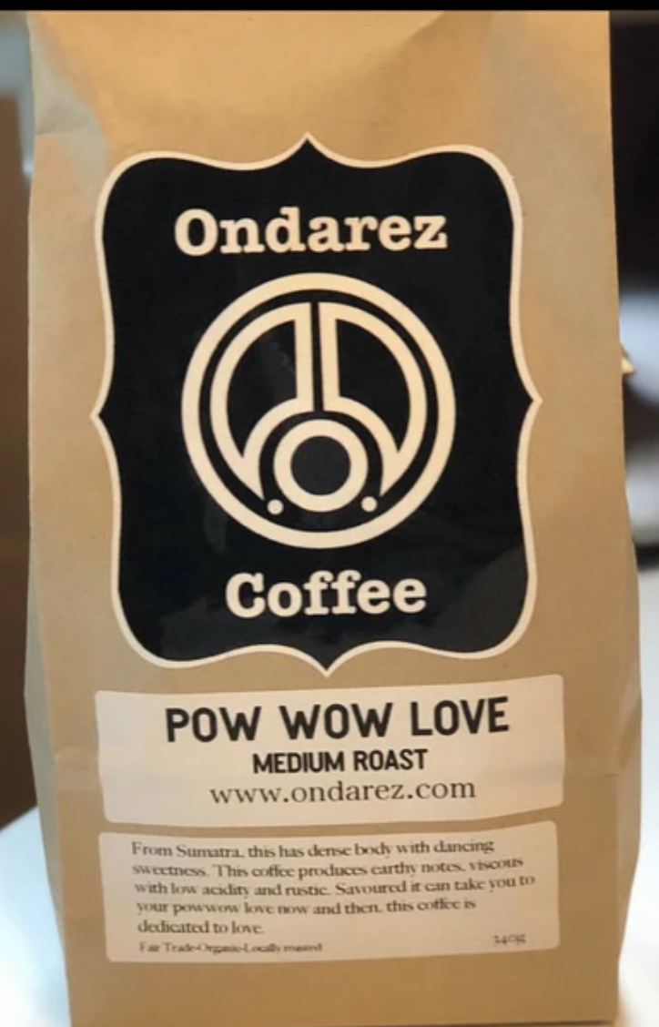 Pow wow Love Coffee
